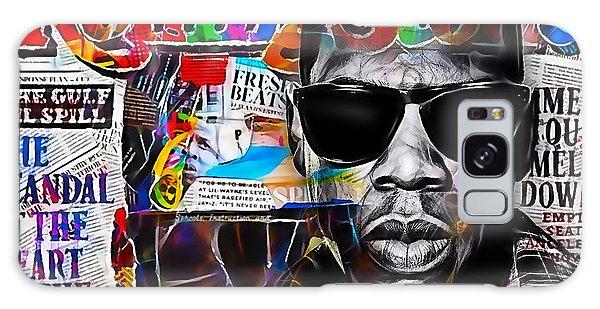 Jay Z Galaxy Case - Jay Z Collection by Marvin Blaine