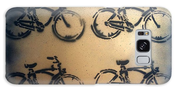 24k Gold Bicycle Signed Robert R Galaxy Case