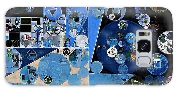 Heather Galaxy Case - Abstract Painting - Onyx by Vitaliy Gladkiy