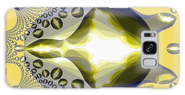 Semis Galaxy Case - 2559 Turtle Semi Abstract 2017 by Irmgard Schoendorf Welch