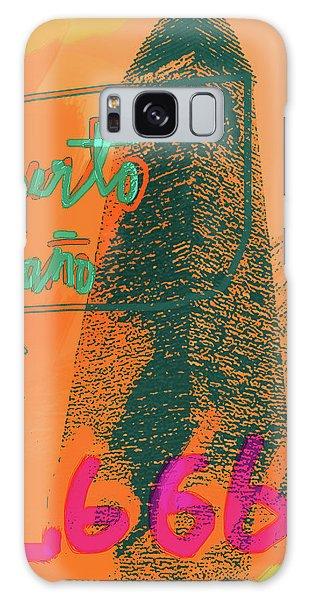 2666 Roberto Bolano  Poster  Galaxy Case
