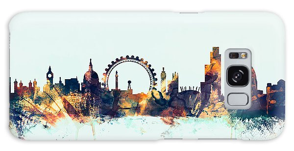 London England Skyline Galaxy Case