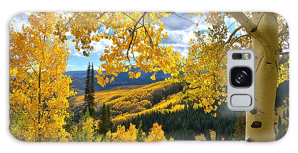 Ohio Pass Fall Colors Galaxy Case