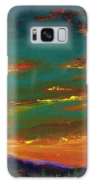 2nd In A Triptych Galaxy Case by Frances Marino
