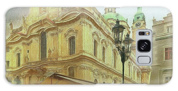 2nd Work Of St. Nicholas Church - Old Town Prague Galaxy Case