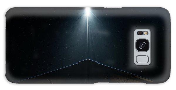 Bethlehem Galaxy Case - Abstract Nativity Scene by Allan Swart