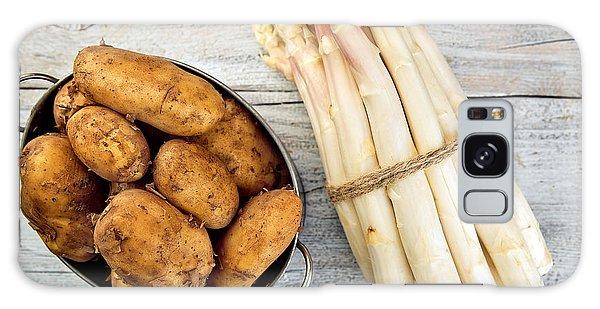 Potato Galaxy Case - Asparagus by Nailia Schwarz