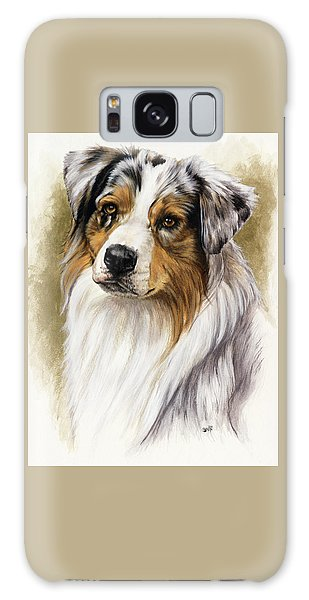 Australian Shepherd Galaxy Case by Barbara Keith