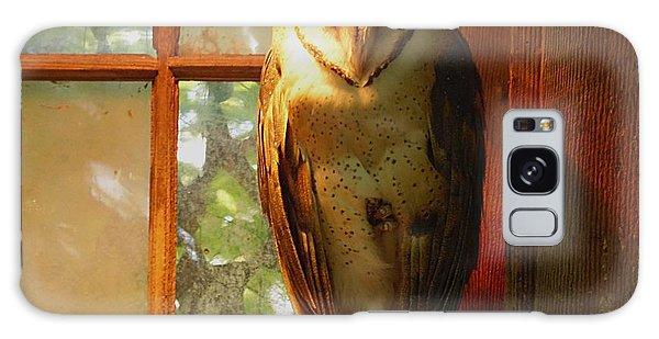 Barn Owl Galaxy Case by Janice Spivey