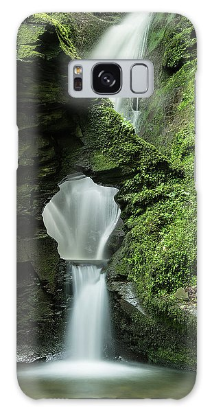 Fairy Pools Galaxy S8 Case - Beautiful Flowing Waterfall With Magical Fairytale Feel In Lush  by Matthew Gibson