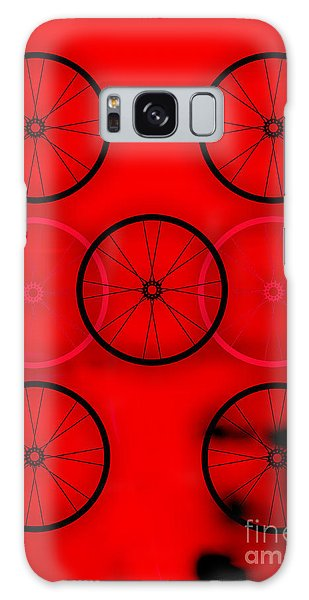 Bicycle Wheel Collection Galaxy Case