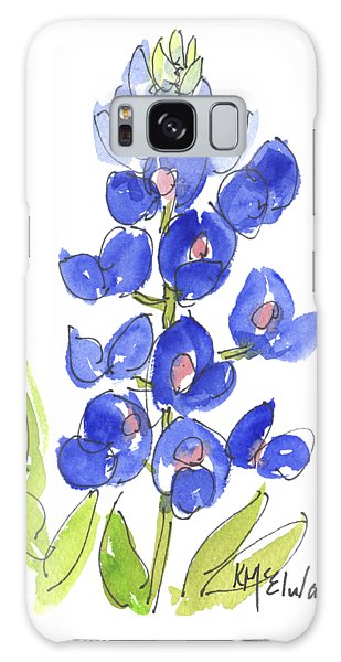 Bluebonnet Galaxy Case