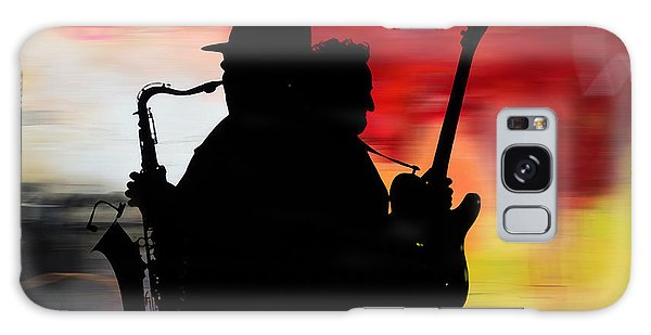 Iphone Case Galaxy Case - Bruce Springsteen Clarence Clemons by Marvin Blaine