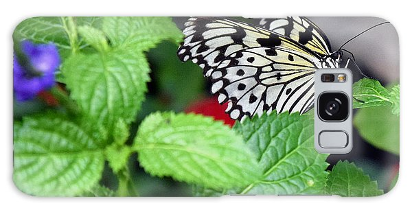 Paper Kite Butterfly No. 3 Galaxy Case by Sandy Taylor