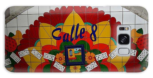Calle Ocho Cuban Festival Miami Galaxy Case
