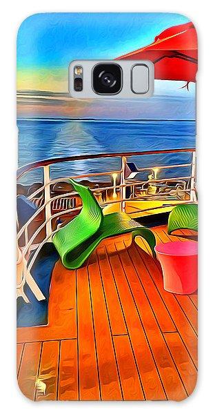 Bahamas Galaxy Case - Carnival Pride Deck by Stephen Younts