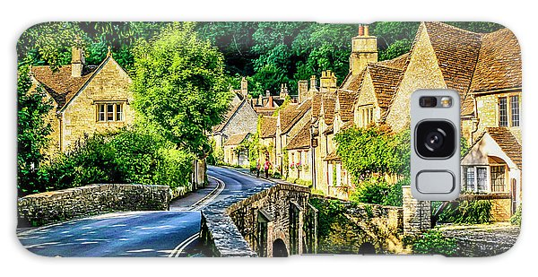 Castle Combe Village, Uk Galaxy Case