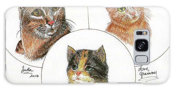 3 Cats For Juda Galaxy Case