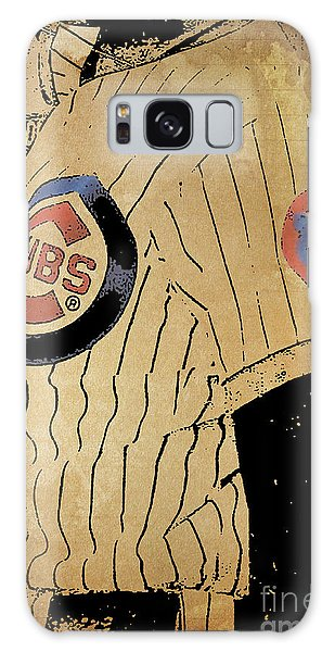 Vintage Chicago Galaxy Case - Chicago Cubs Baseball Team Vintage Card by Drawspots Illustrations