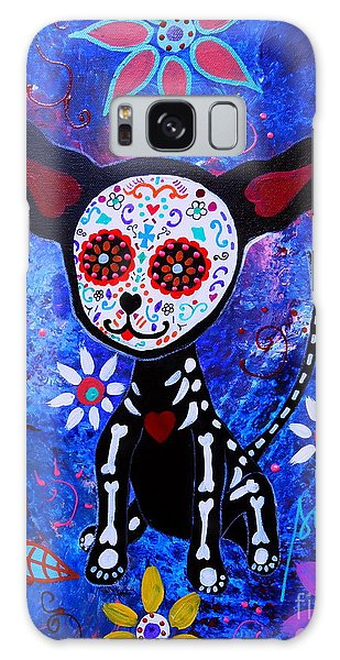 Chihuahua Day Of The Dead Galaxy Case