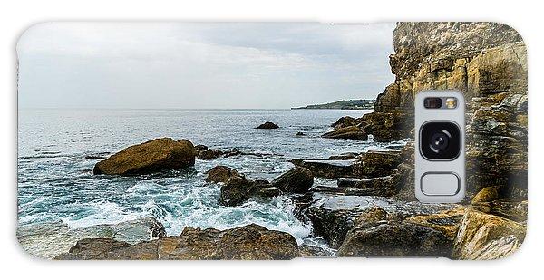 Galaxy Case - Coastline Of The Bay by Ric Schafer