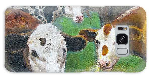 3 Cows Galaxy Case