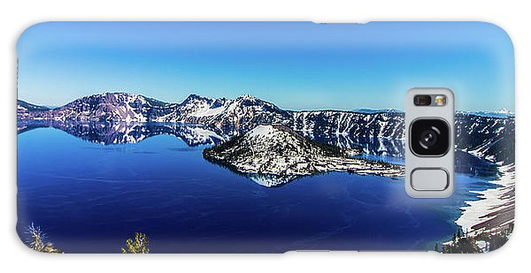 Galaxy Case featuring the photograph Crater Lake by Jonny D