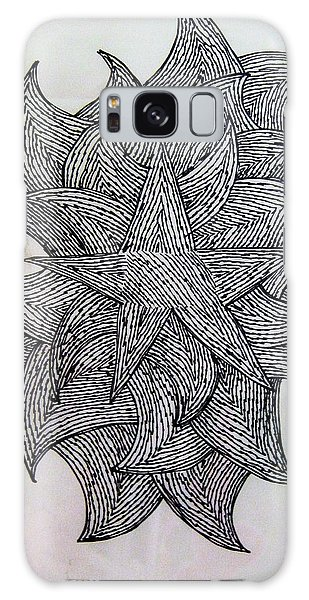 3 D Sketch Galaxy Case by Barbara Yearty