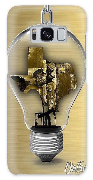 Dallas Texas Map Collection Galaxy Case