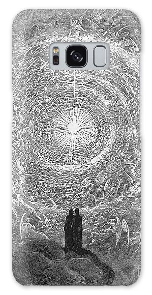 Divine Galaxy Case - Dante Paradise by Gustave Dore