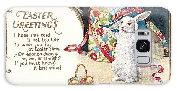 Easter Greetings Galaxy Case by David and Lynn Keller