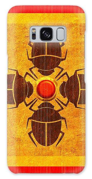 Egyptian Scarab Beetle Galaxy Case by John Wills