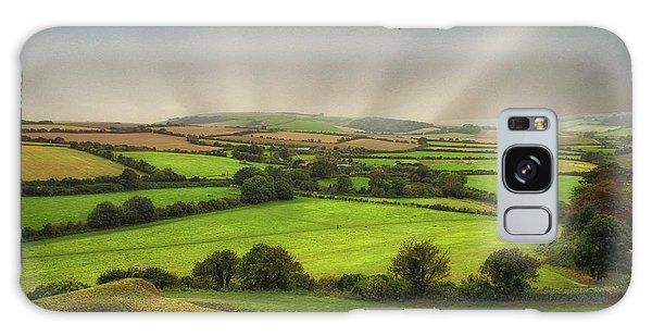 English Countryside Galaxy Case - English Countryside by Martin Newman