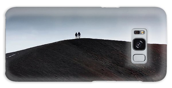 Etna, The Volcano Galaxy Case by Bruno Spagnolo