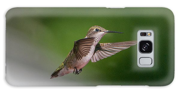 Female Ruby Throated Hummingbird Galaxy Case