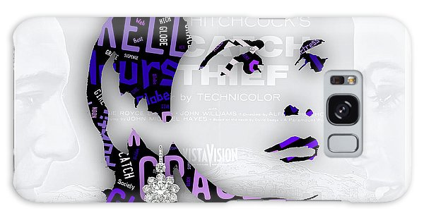 Grace Kelly Movies In Words Galaxy Case