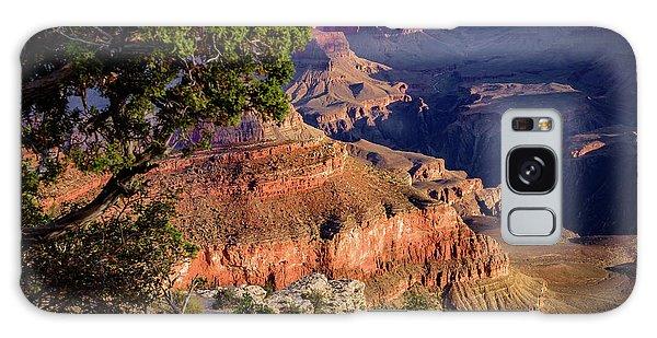 Desert View Tower Galaxy Case - Grand Canyon Sunrise - Arizona by Jon Berghoff