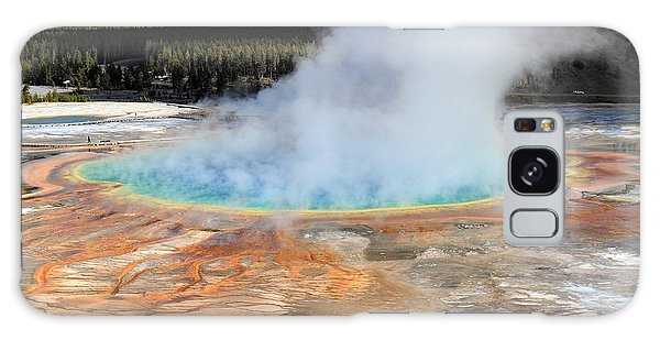 Fairy Pools Galaxy S8 Case - Grand Prismatic Pool In Yellowstone National Park by Pierre Leclerc Photography