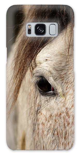Horse Portrait Galaxy Case