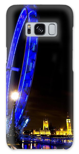 London Eye Night View Galaxy Case
