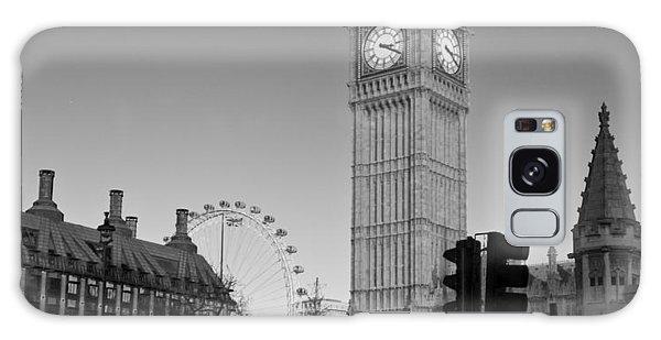 London  Skyline Big Ben Galaxy Case by David French