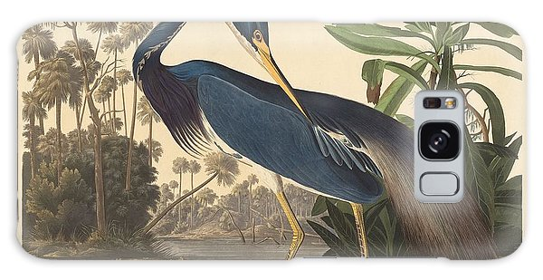 Ibis Galaxy S8 Case - Louisiana Heron by Dreyer Wildlife Print Collections