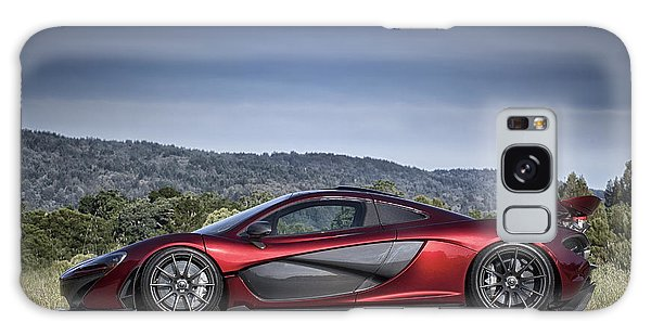 Galaxy Case featuring the photograph Mclaren P1 by ItzKirb Photography