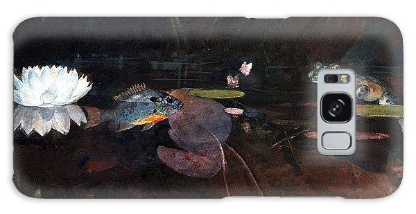 Sea Lily Galaxy Case - Mink Pond by Winslow Homer
