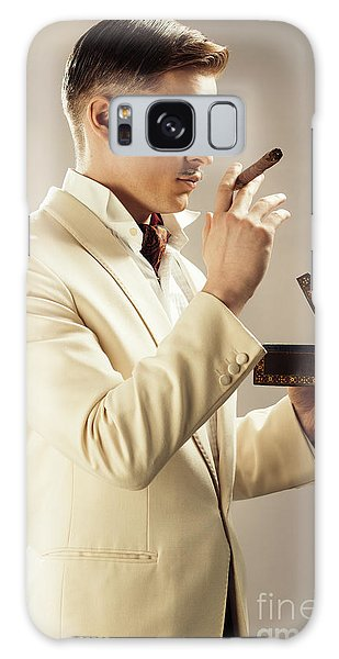 Cosplay Galaxy Case - Model Playing Errol Flynn Character by Amanda Elwell