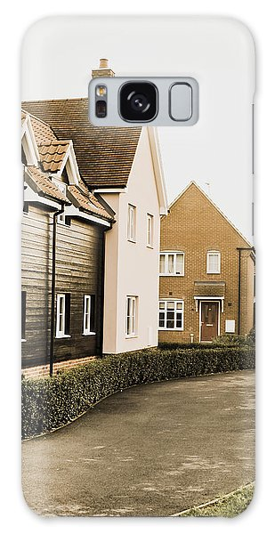 Bury St Edmunds Galaxy Case - Modern Houses by Tom Gowanlock