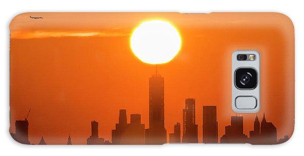 New York City Sunrise Galaxy Case