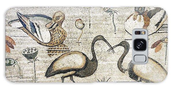 Nile Flora And Fauna, Roman Mosaic Galaxy Case