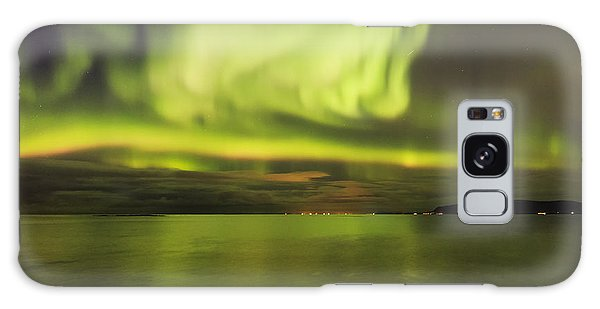Northern Lights Reykjavik Galaxy Case by Gunnar Orn Arnason