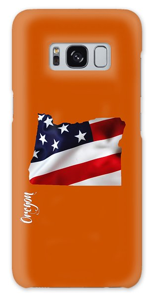 Oregon State Map Collection Galaxy Case by Marvin Blaine